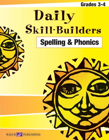 Daily Skill-Builders Spelling and Phonics Grades 3-4 from Walch Publishing