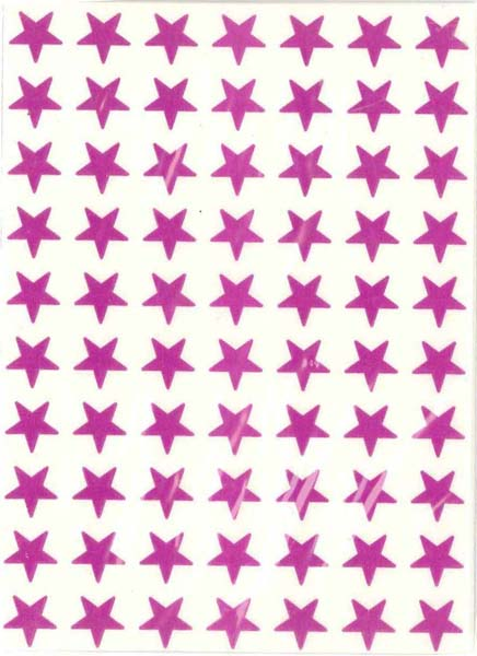 Purple Stars (280) from Accelerated Christian Education
