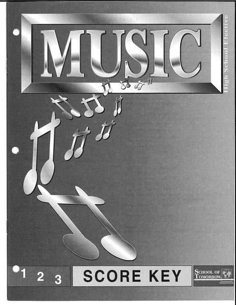 Music Key 1-3
