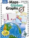 Maps, Globes and Graphs Level F Teacher's Guide by Steck-Vaughn