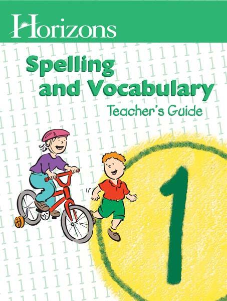 Horizons 1st Grade Spelling & Vocabulary Teacher's Guide from Alpha Omega Publications