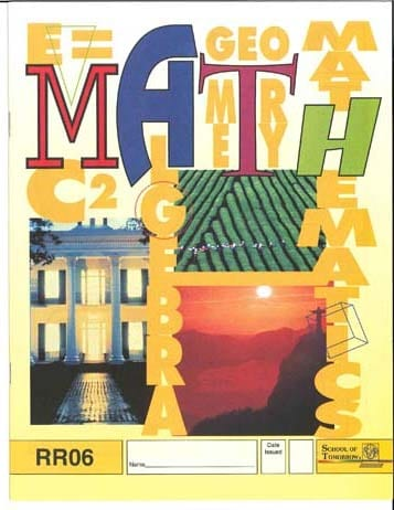 Reading Readiness Math PACE 1 from Accelerated Christian Education