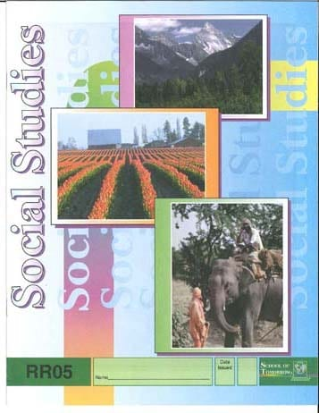Reading Readiness Social Studies Pace 6 from Accelerated Christian Education