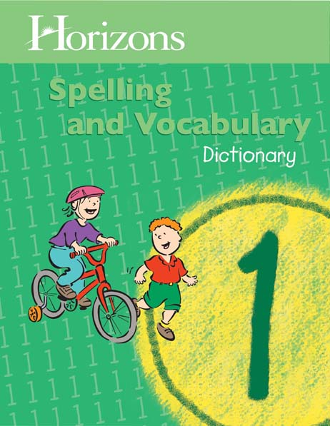 Horizons 1st Grade Spelling & Vocabulary Dictionary from Alpha Omega Publications