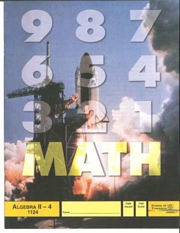 Algebra II Unit 2 (Pace 1122) (High School) from Accelerated Christian Education