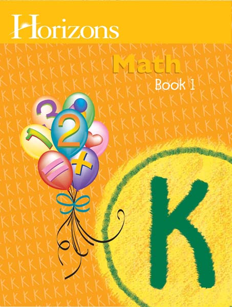 Horizons Kindergarten Math Student Book 1 from Alpha Omega Publications
