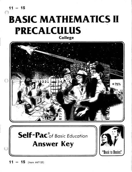 PreCalculus Solution Key 11-15