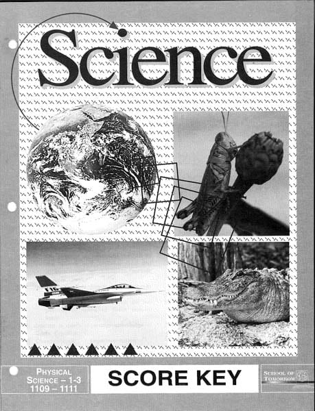 Physical Science Key 1109-1111 from Accelerated Christian Education