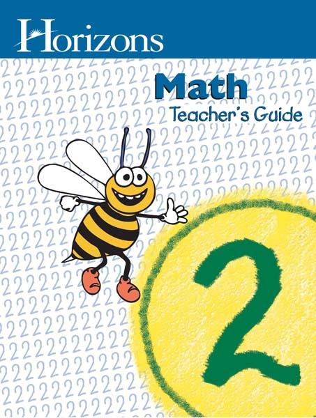 Horizons 2nd Grade Math Teacher's Guide from Alpha Omega Publications