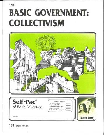 Collectivism Unit 4 (Pace 136) (High School) from Accelerated Christian Education