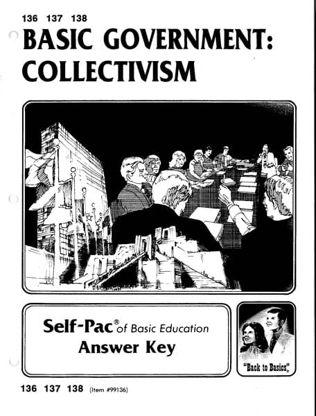 Collectivism Key 133-135 from Accelerated Christian Education