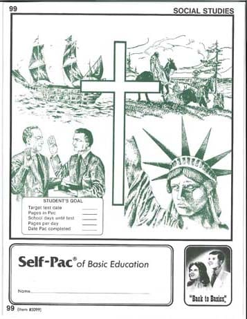 World History Unit 8 (Pace 104) (High School) from Accelerated Christian Education