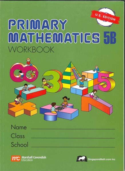 Primary Math Workbook 5B US Edition by Singapore Math