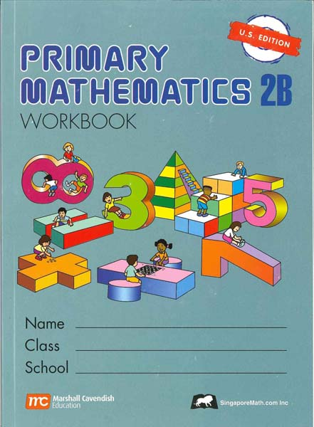 Primary Math Workbook 2B US Edition by Singapore Math
