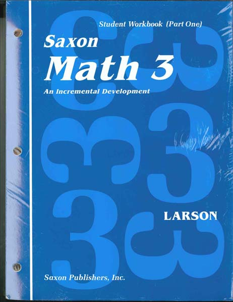 Math 3 Homeschool First Edition Student Workbook Set from Saxon Math