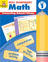 Skill Sharpeners Math Grade 1 from Evan-Moor