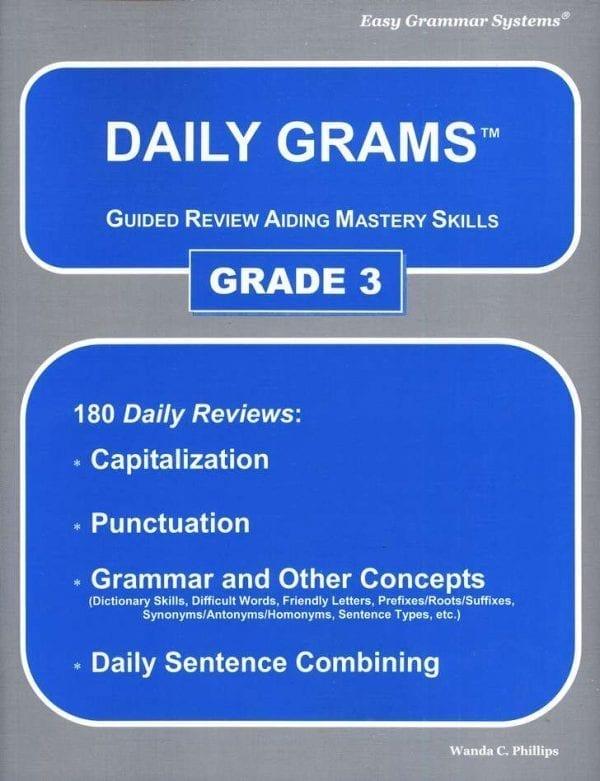 Daily Grams: Grade 3 Teacher Text from Easy Grammar Systems
