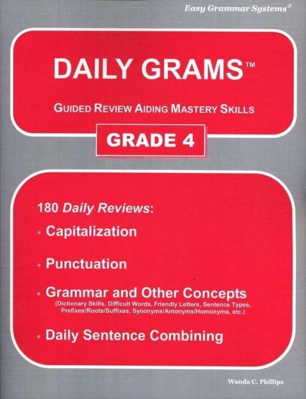 Daily Grams: Grade 4 Teacher Text from Easy Grammar Systems