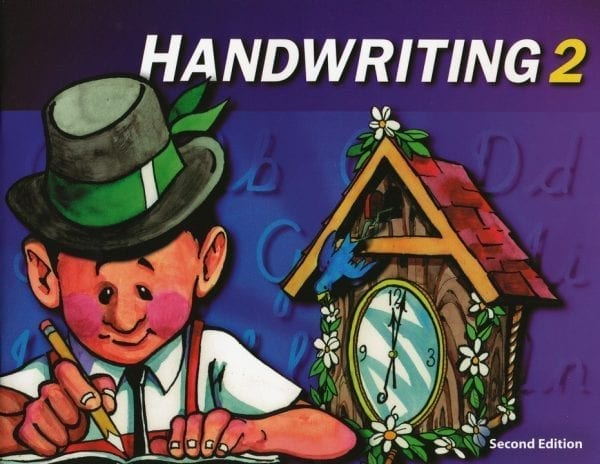 2nd Grade Handwriting Textbook Kit from BJU Press
