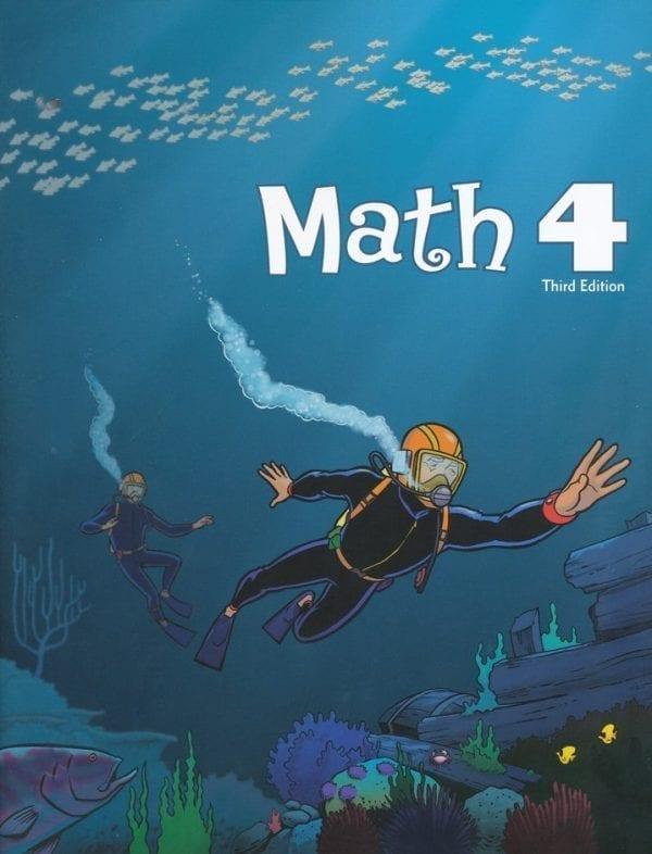 4th Grade Math Textbook Kit from BJU Press