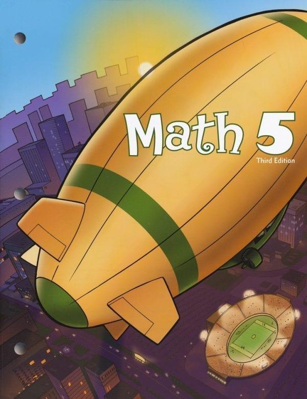 5th Grade Math Textbook Kit from BJU Press