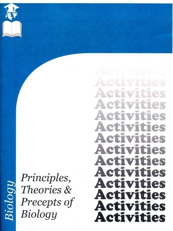 Principles, Theories, and Precepts of Biology Chapter 5 Activities