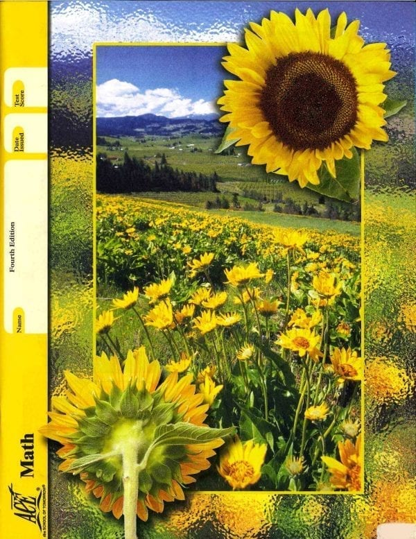 Math Unit 8 (Pace 1092) (Fourth Edition) from Accelerated Christian Education