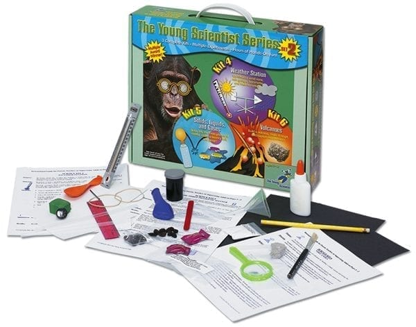 Science Set #2: Weather, Solids, Liquids, Gases, and Volcanoes from The Young Scientists Club