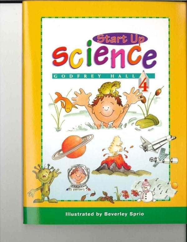 Start Up Science Book 4 by Singapore Math