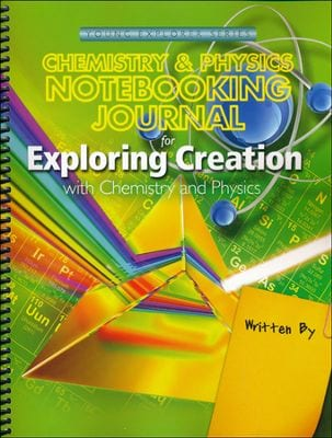 Chemistry and Physics Notebooking Journal from Apologia