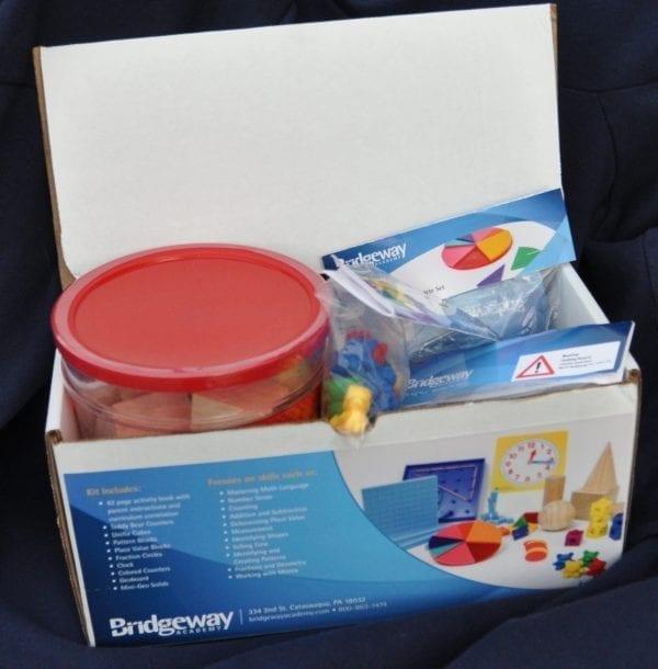 Discovery Math Kit Grades K/1 from Bridgeway