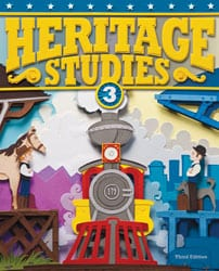 3rd Grade Heritage Studies Textbook Kit by BJU Press