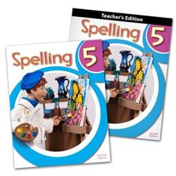 5th Grade Spelling Textbook Kit from BJU Press