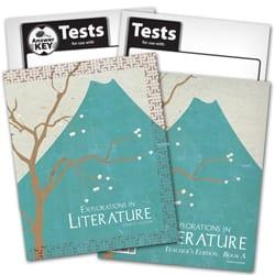 7th Grade Explorations in Literature Textbook Kit from BJU Press