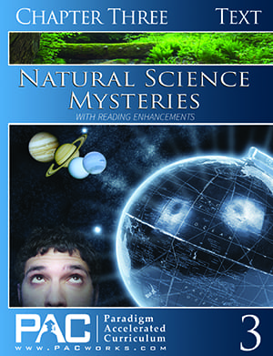 Natural Science Mysteries Chapter 3 Text from Paradigm Accelerated Curriculum