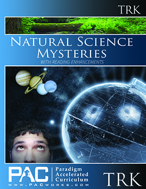 Natural Science Mysteries Teacher's Resource Kit with CD from Paradigm Accelerated Curriculum
