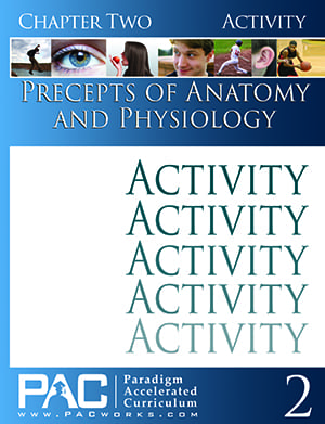 Precepts of Anatomy and Physiology Chapter 2 Activities from Paradigm Accelerated Curriculum