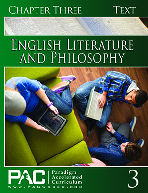English IV: Legacy of Freedom Chapter 3 Text from Paradigm Accelerated Curriculum