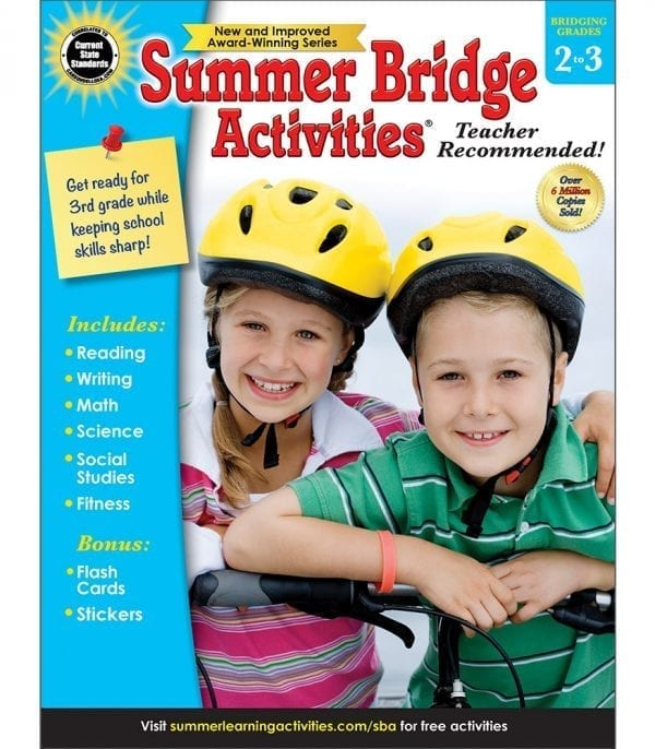 Summer Bridge Activities Grades 2-3 from Carson-Dellosa