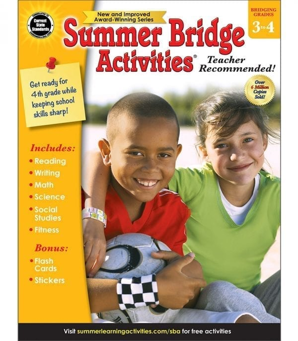Summer Bridge Activities Grades 3-4 from Carson-Dellosa