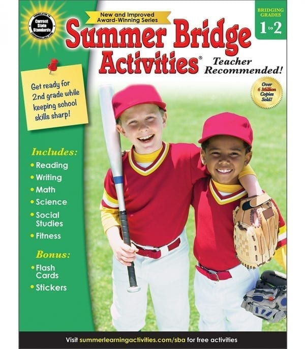 Summer Bridge Activities Grades 1-2 from Carson-Dellosa