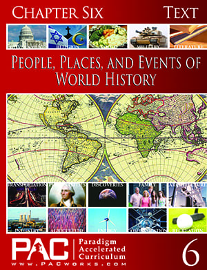 World History Chapter 6 Text from Paradigm Accelerated Curriculum