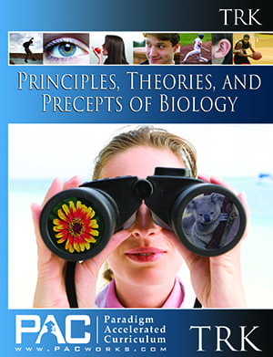 Principles, Theories, and Precepts of Biology Teacher's Resource Kit from Paradigm Accelerated Curriculum