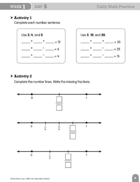 Save Now. Evan-Moor Daily Math Practice Grade 3