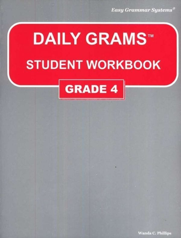 Daily Grams: Grade 4 Workbook from Easy Grammar Systems