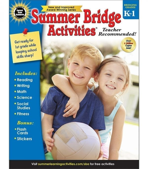 Summer Bridge Activities Grades K-1 from Carson-Dellosa