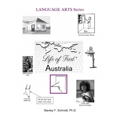 Life of Fred: Australia from Polka Dot Publishing