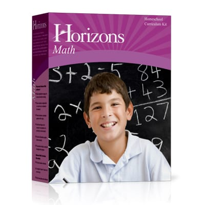 Horizons 6th Grade Math Complete Set from Alpha Omega Publications