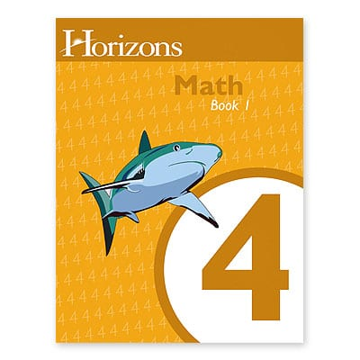 Horizons 4th Grade Math Student Book 1 from Alpha Omega Publications