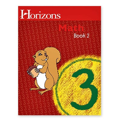 Horizons 3rd Grade Math Student Book 2 from Alpha Omega Publications